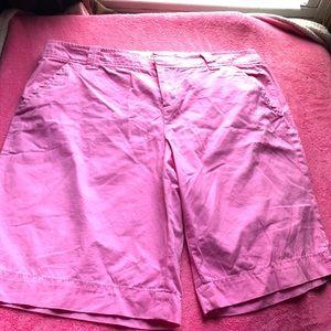 Lily Pulitzer Pink Bermuda Shorts 14 💕